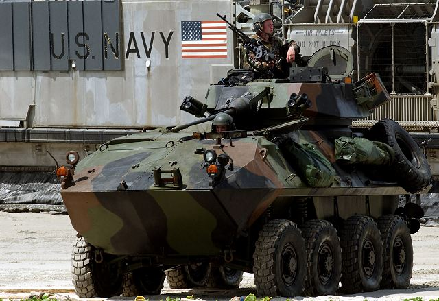 General Dynamics Marine Personnel Carrier