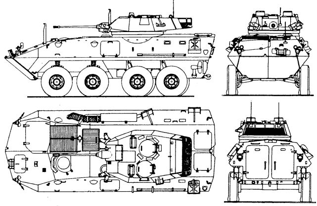 Lav 25 8x8 light armoured vehicle technical data sheet specifications pictures video on back to the future car 3