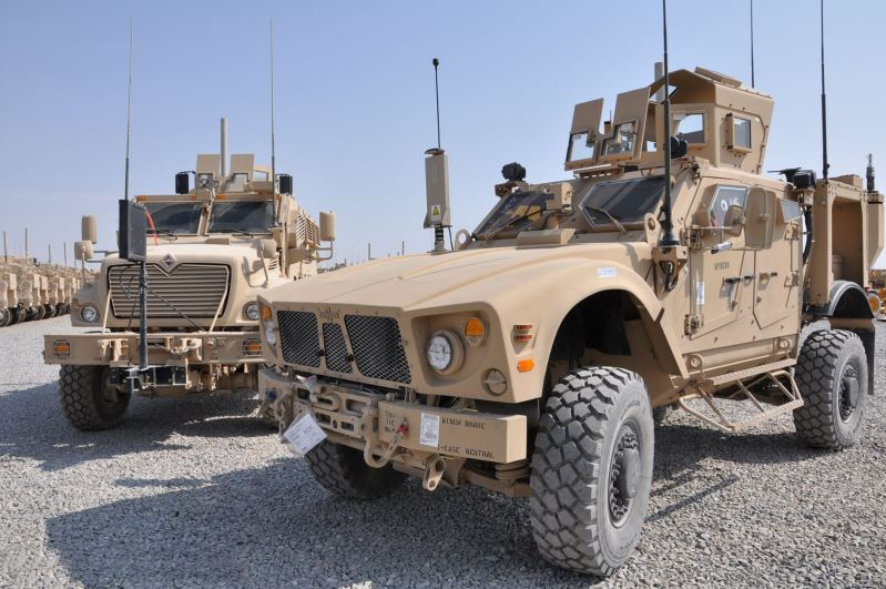 M Atv Oshkosh Mrap All Terrain Wheeled Armoured Vehicle Us