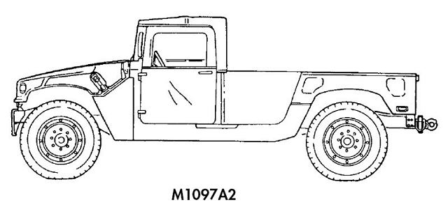 Line Drawing North America : Army hmmwv load plans sketch coloring page