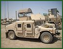 M1114 up-armored HMMWV Humvee armament carrier armour kit technical data sheet specifications information description intelligence identification pictures photos images video information US Army United States American AM General defence industry military technology