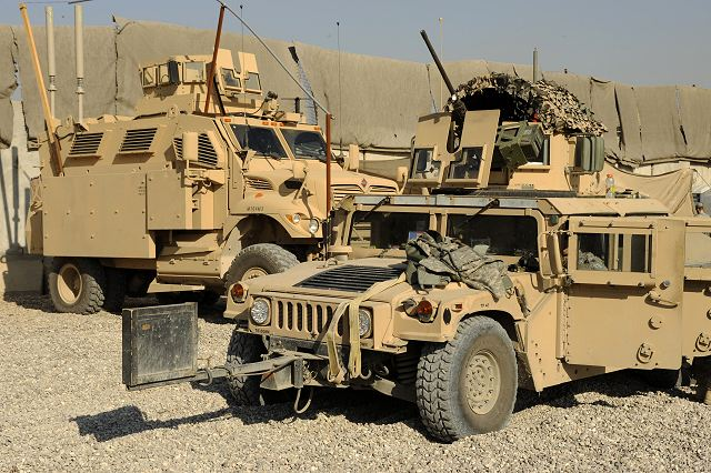 M1114 Up Armored Hmmwv Humvee Armament Carrier Armour Kit