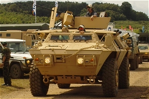 M1117 ASV Guardian Security armoured vehicle personnel carrier data sheet description information intelligence identification pictures photos images Textron Marine & Land Systems US Army United States American
