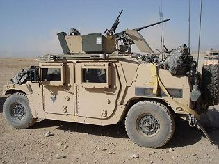 M1151 M1151A1 Humvee Expanded Capacity Armament Carrier armour technical data sheet specifications information description intelligence identification pictures photos images US Army United States American defence industry military technology