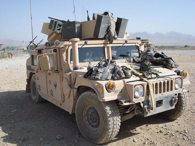 M1151 M1151A1 Humvee Expanded Capacity Armament Carrier ...