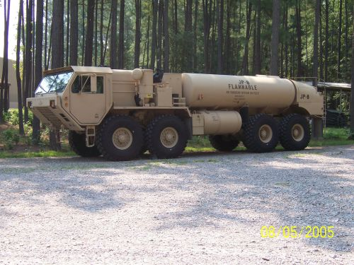 M978 A2 Oshkosh Heavy Expanded Mobility Tactical Fuel