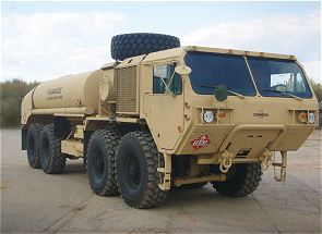 M978 A4 HEMTT Oshkosh military fuel servicing truck tanker data sheet description information intelligence identification pictures photos images US Army United States American defense Heavy Expanded Mobility Tactical Truck