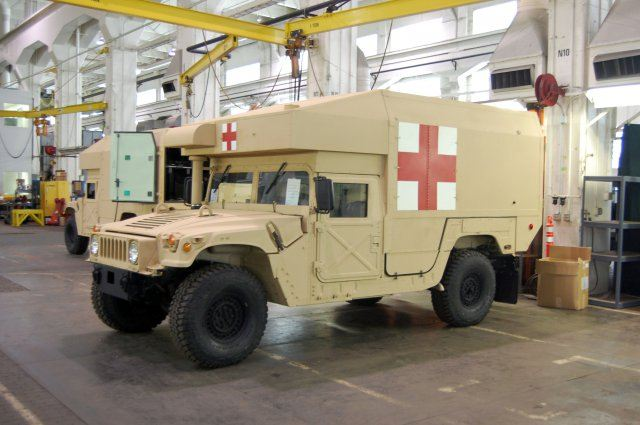 New M997a3 Humvee The Most Modern Military Ambulance In
