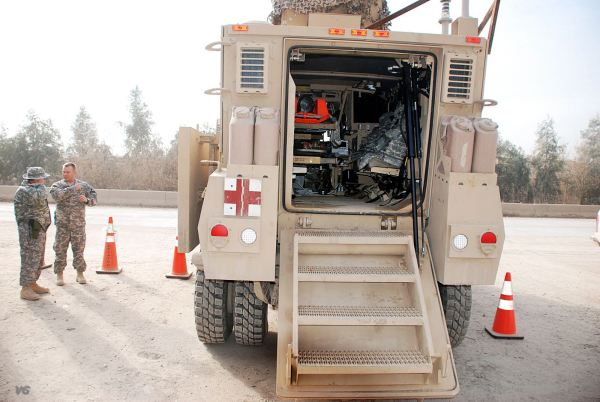 Maxxpro Ambulance Mrap Medical Evacuation Armoured Vehicle