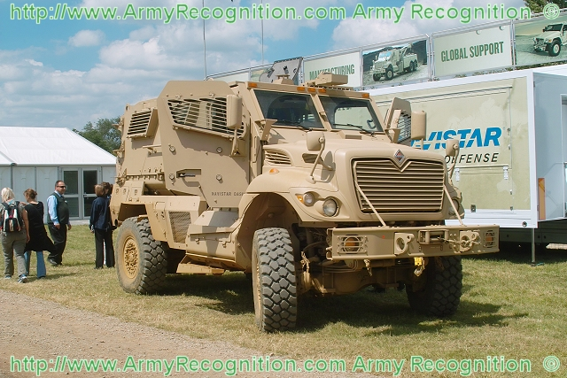 Navistar Defense received a new contract for 471 Maxxpro