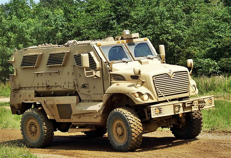 MaxxPro Dash MRAP Category I mine protected armoured ...