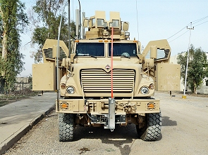 MaxxPro Ambulance MRAP medical evacuation armoured vehicle data sheet information specifications description intelligence identification pictures photos images US Army United States American defense military Navistar International
