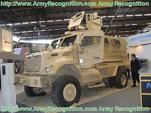 MaxxPro Plus MRAP mine protected armoured vehicle data sheet description information specifications intelligence identification pictures photos images US Army United States American defense military Navistar International