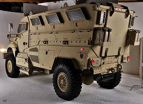 MaxxPro XL MRAP Category II mine protected armoured vehicle data sheet information specifications description intelligence identification pictures photos images US Army United States American defense military Navistar International