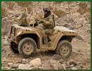 Polaris Industries Inc. has long made military all-terrain vehicles for U.S. forces, but it's expanding its reach overseas. The Medina-based company announced Thursday, September 12, 2013, that it secured a contract to provide Polaris ATVs (All-TerrainVehicle) MV 850 to the German army.