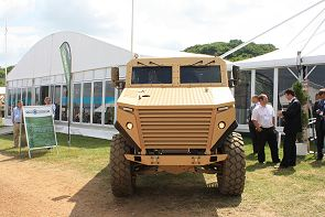 Ocelot Force Protection mine protected vehicle technical data sheet description specifications information identification US army United States American LPPV program