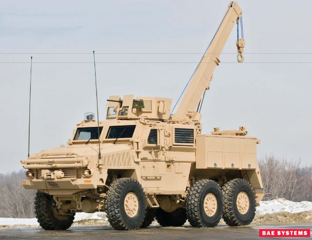 RG33 RG-33 MRRMV MRAP Mine Resistant Recovery Maintenance Vehicle data sheet specifications information description intelligence identification pictures photos images US Army United States American defense military BAE Systems