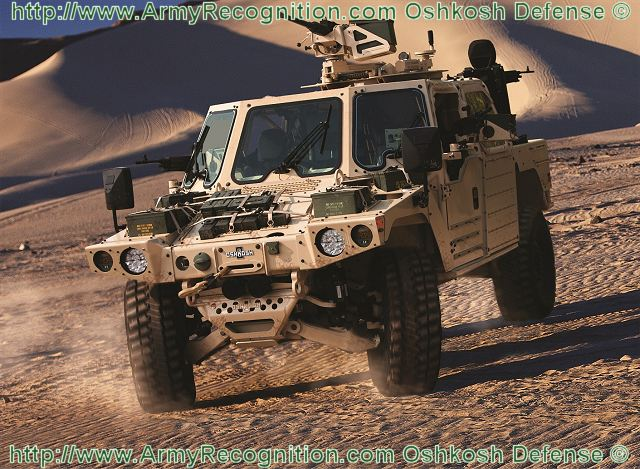 S-ATV Oshkosh Special Purpose All-Terrain Vehicle technical data sheet specifications information description intelligence identification pictures photos images video information US U.S. Army United States American defence industry military technology