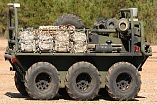 SMSS UGV unmanned ground vehicle system data sheet specifications information description intelligence identification pictures photos images US Army United States American defence industry military technology Squad Mission Support System