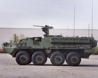 Stryker M1126 ICV infantry armoured personnel carrier vehicle technical data sheet specifications information description intelligence identification pictures photos images US Army United States American defence industry military technology