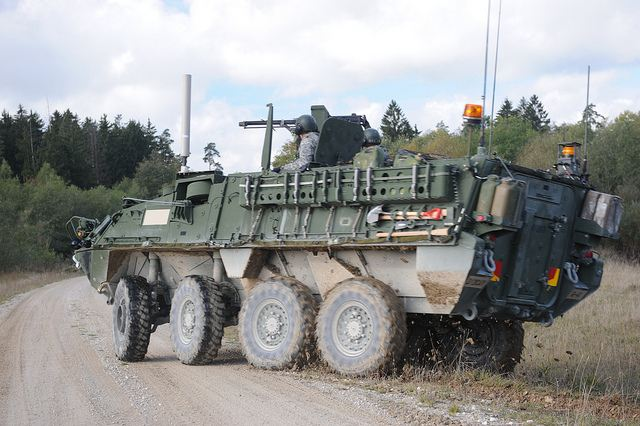 Massive military training exercises Saber Junction for the