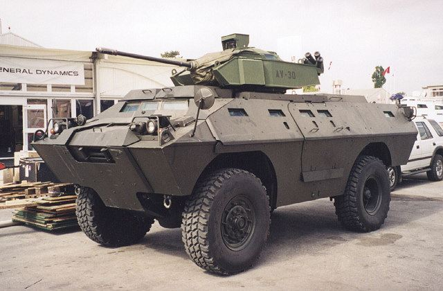 Verne Dragoon ASV-150 wheeled armoured vehicle US army United States pictures technical data sheet description identification information
