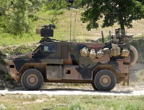 Bushmaster Thales véhicule blindé transport troupe fiche technique informations spécifications description identification renseignements photos images Australie armée australienne photos images