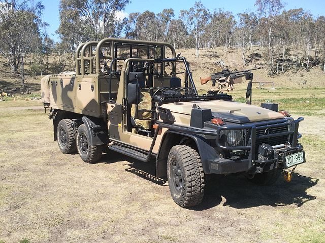 Australian army takes delivery of first Mercedes-Benz G ...