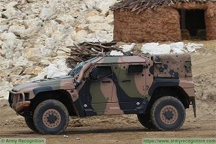 Hawkei PMV L 4x4 light wheeled high mobility protected vehicle Thales Australia Australian army left side view 004