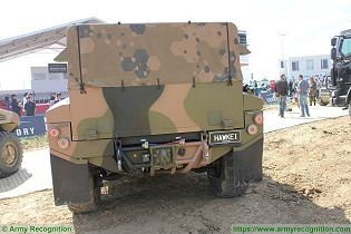 Hawkei PMV L 4x4 light wheeled high mobility protected vehicle Thales Australia Australian army rear back view 004