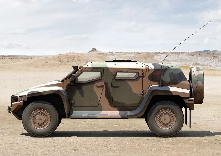 Hawkei Thales Light Wheeled Protected High Mobility