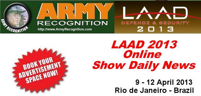 LAAD 2013 book your advertisement space now online show daily news Army Recognition LAAD 2013