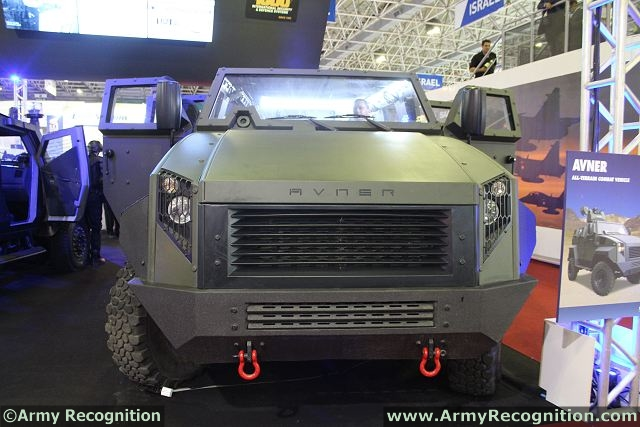 At LAAD 2013, the International Defence Exhibition of Brazil, the American Company MDT Armor unveils its new all-terrain combat vehicle, the AVNER. The Textron/MDT Avner combat vehicle is a cost-effective, survivable, light protected all-terrain vehicle that seats three to eleven crewmembers. Incorporating a proprietary armored capsule mounted on a modified commercial Dodge® RAM® pickup truck, the Avner offers significant advantages in power, room, protection and lifecycle cost.