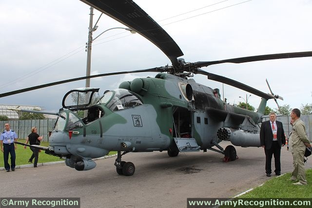 Brazil Armed Forces: News and deals Mi-35M_AH-2_Sabre_Brazil_Brazilian_air_force_LAAD_2013_defence_exhibition_640_001
