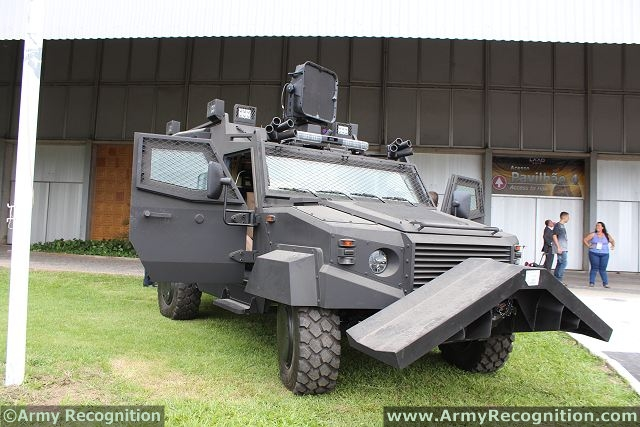 The Nimr internal Security Vehicle - 4X4 is a fast deployment riot control troop carrier. The vehicle is designed for use over all types of roads as well as in all weather conditions. Designed to carry up to 8 equipped troops,the 6 back seats are facing to the outside.