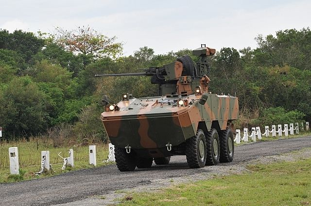 The Brazilian Defense Ministry is negotiating the sale of 14 units of armored Guarani to the Argentine Army. Argentina's interest comes from the Guarani in October 2011 when a delegation of military personnel is factory visit IVECO in Sete Lagoas, in the Brazilian state of Minas Gerais and attends a demonstration vehicle.