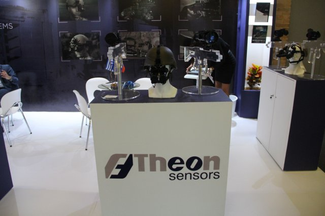 Theon Sensors is exhibiting its night vision systems at Expodefensa 2015 640 001