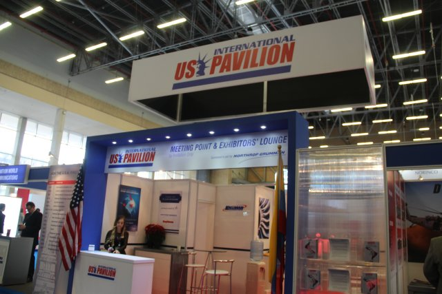 US companies are displaying new competitive air sea and land solutions at Expodefensa 2015 640 001