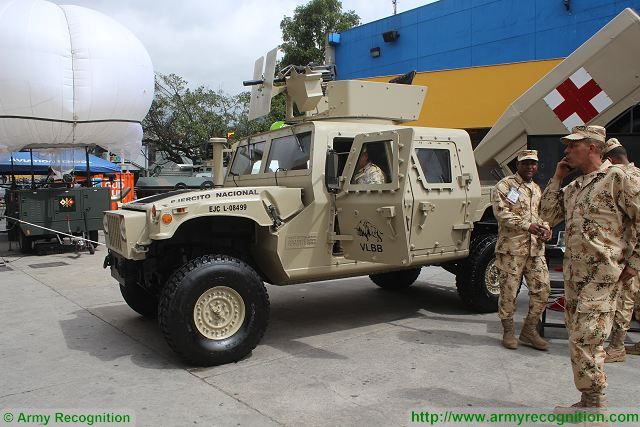 VLB-Bufalo upgrade Humvee ExpoDefensa 2015 International Exhibition of Defense and Security in Colombia 640 001