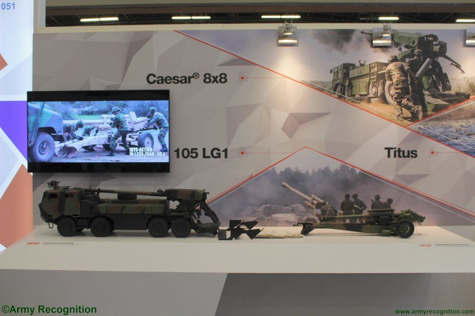 Expodefensa 2017 Nexter promoting full range of artillery systems 001
