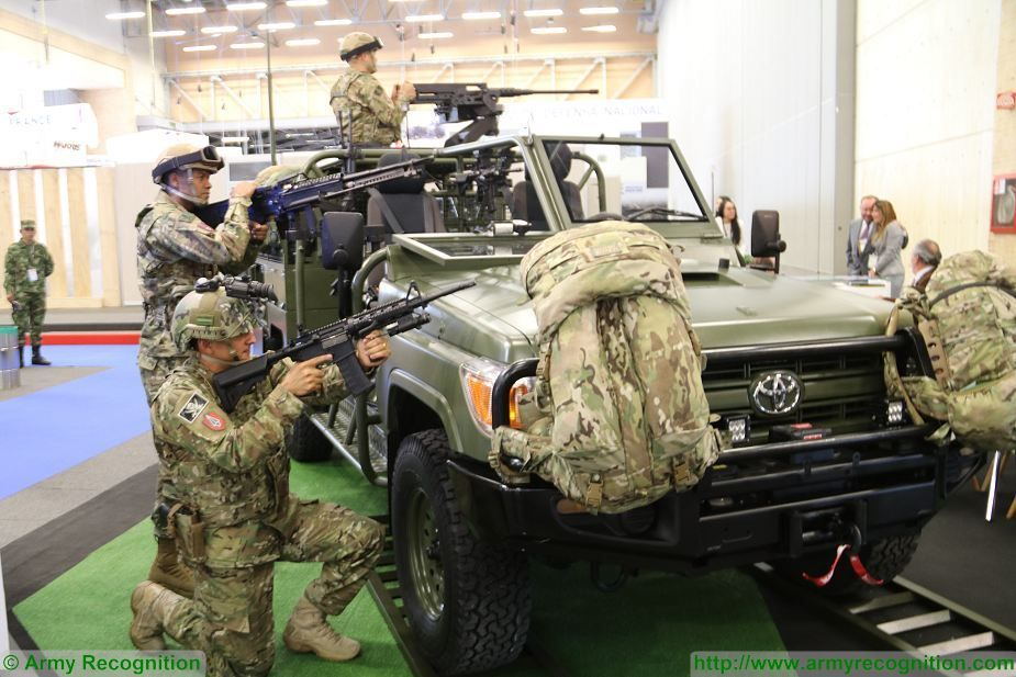 Jankel introduces FOX and Hunter combat security Vehicles at ExpoDefensa 2017 defense exhibition Colombia 925 003