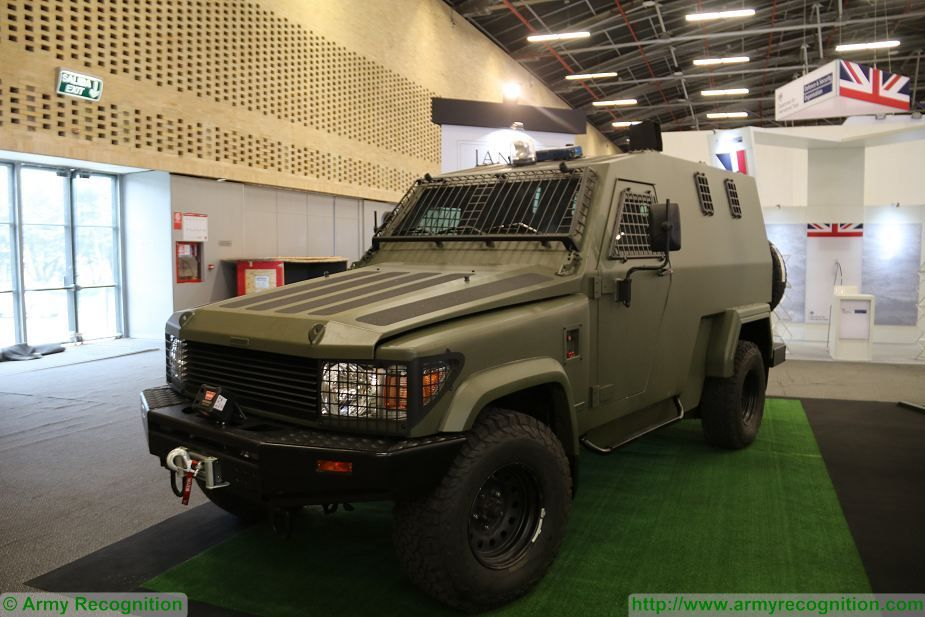 Jankel introduces FOX and Hunter combat security Vehicles at ExpoDefensa 2017 defense exhibition Colombia 925 004