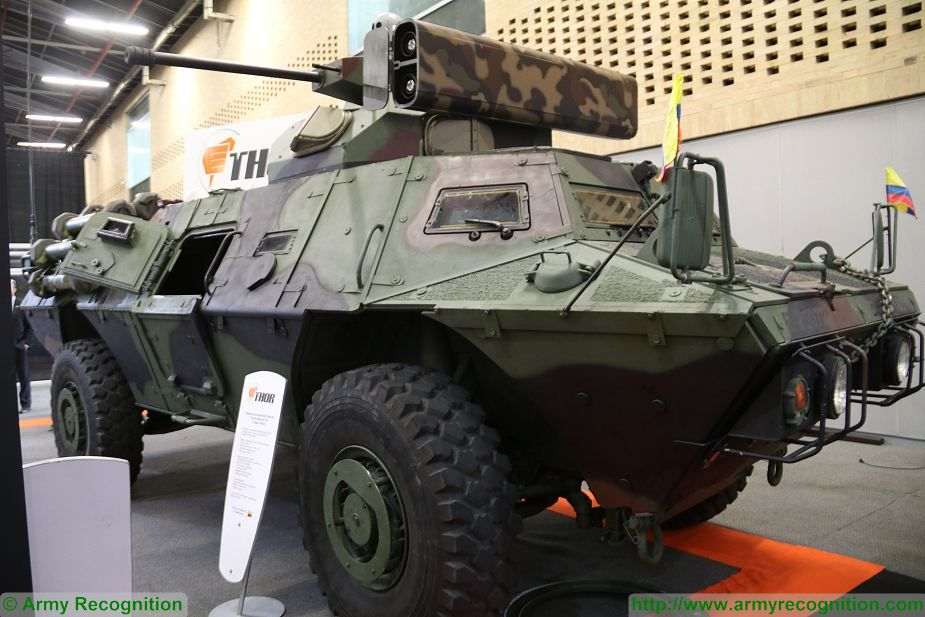 THOR Myolnir T 30 turret will increase fire power of Pegaso 4x4 APC Colombian army 925 001