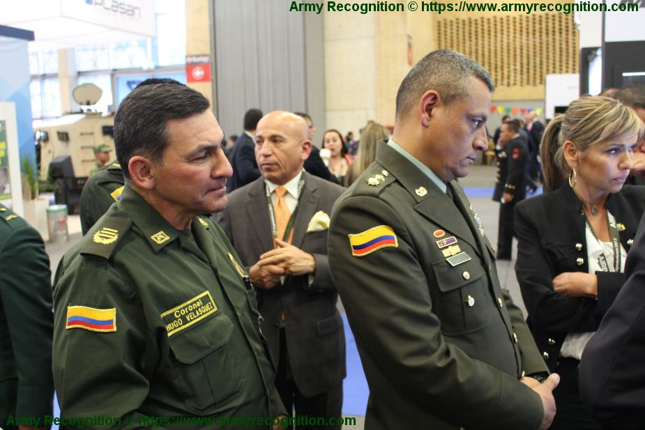 ExpoDefensa 2019 Defense and Security Exhibition Latin America Bogota Colombia exhibitors viistors page 925 002