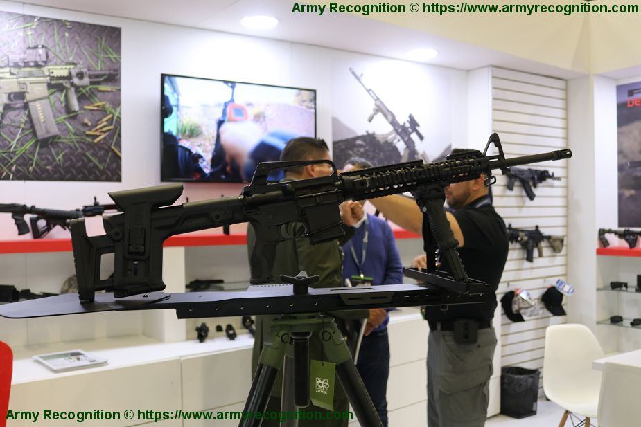 FAB Defense from Israel presents its new precision rifle ExpoDefensa 2019 925 001