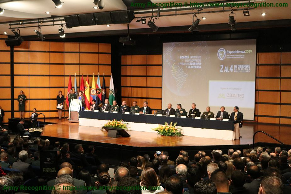 Today opening of International Defense and Security in Colombia ExpoDefensa 2019 925 001