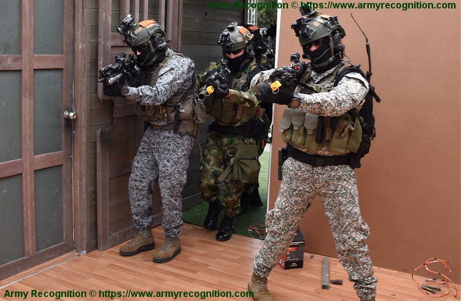 Today opening of International Defense and Security in Colombia Special Forces ExpoDefensa 2019 925 001