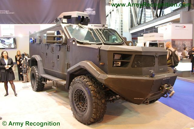 Colombia has selected the Hunter TR-12 as MRAP vehicle for its armed forces. The vehicle is designed and maunfactured by the local Company Armor International. Armor International has specialized in armoring all types of vehicles since 1981. Working in conjunction with aeronautics agencies, Armor International develops increasingly lighter armor composites with the flexibility to meet clients' needs.
