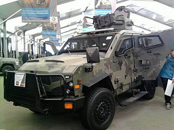 According to an official source, the Mexican Ministry of Defense has bought an unspecified number of Oshkosh Sandcat Tactical Protector Vehicles.