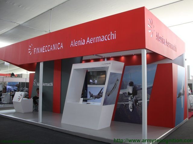 Alenia Aermacchi highlights C 27J Spartan airlifter and M346 trainer aircraft at SITDEF 640 001